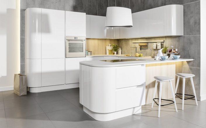 mebel kuchenne białe koszalin