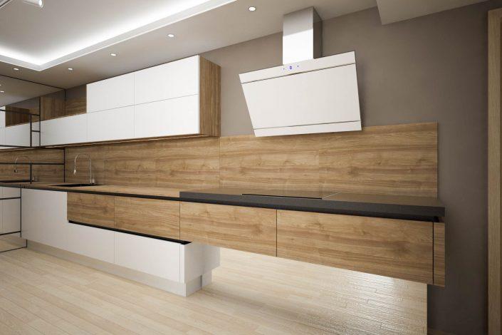 projekt kuchni nowoczesnej