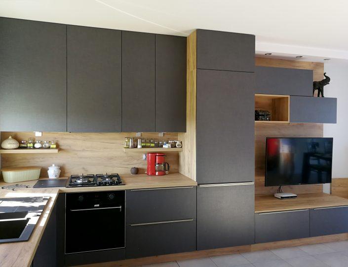 realizacja projektu kuchni nowoczesnej